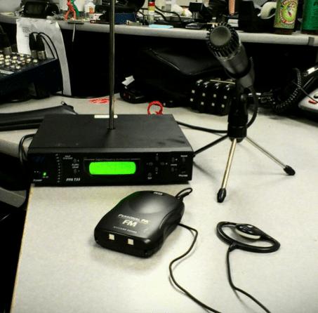tabletop transmitter