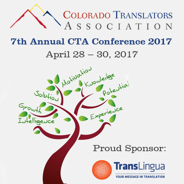 Join Us at the 7th Annual Colorado Translators Association Conference