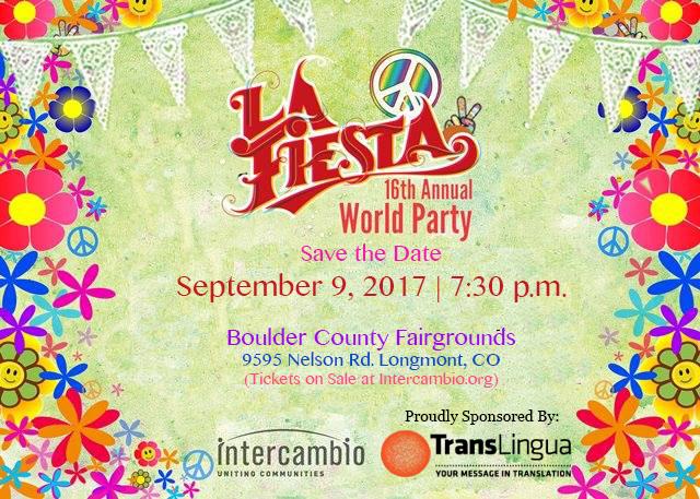 La Fiesta: World Party 2017 Celebration Proudly Sponsored by TransLingua