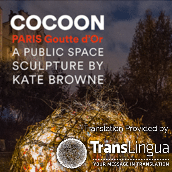 TransLingua Helps Translate for the Cocoon Art Project